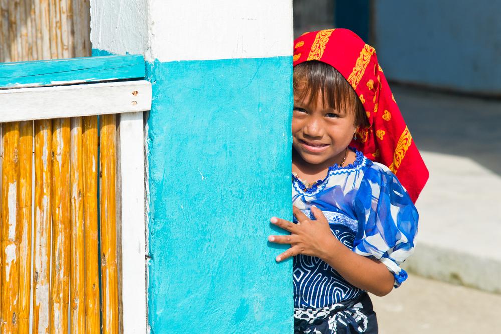 dziewczynka w Panamie
