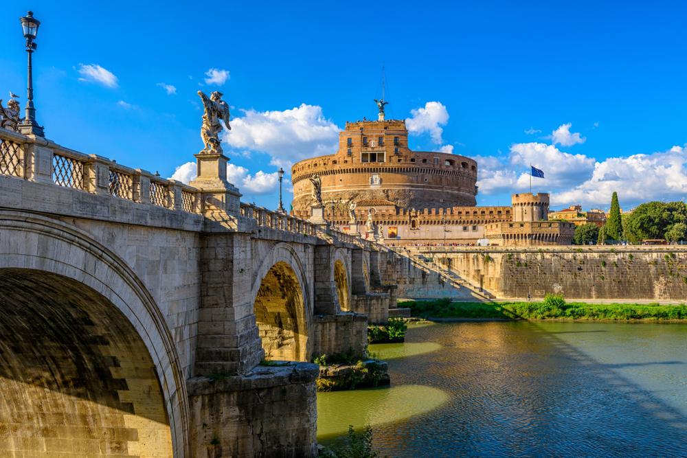 Rzym castle Sant Angelo