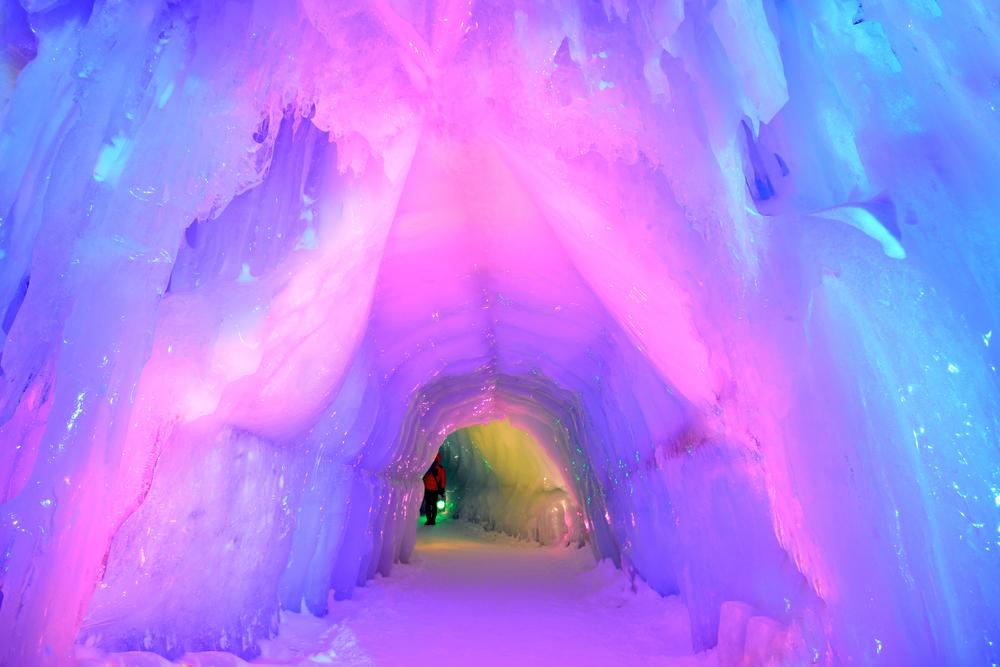 Sapporo lodowa jaskinia
