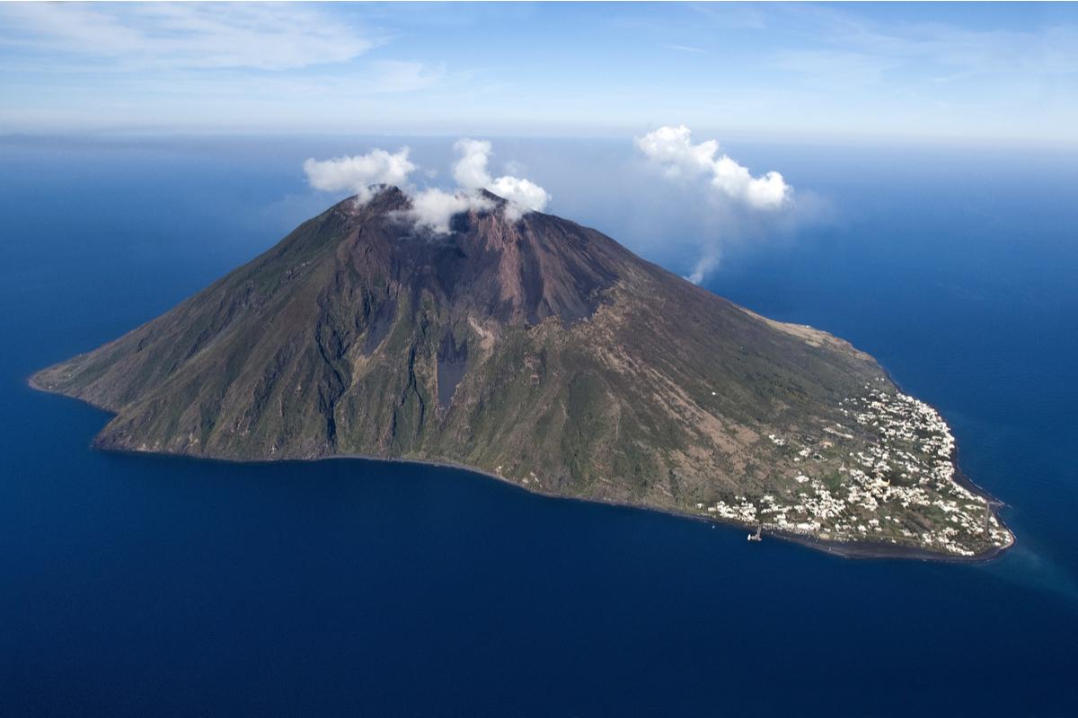 Stromboli wulkan