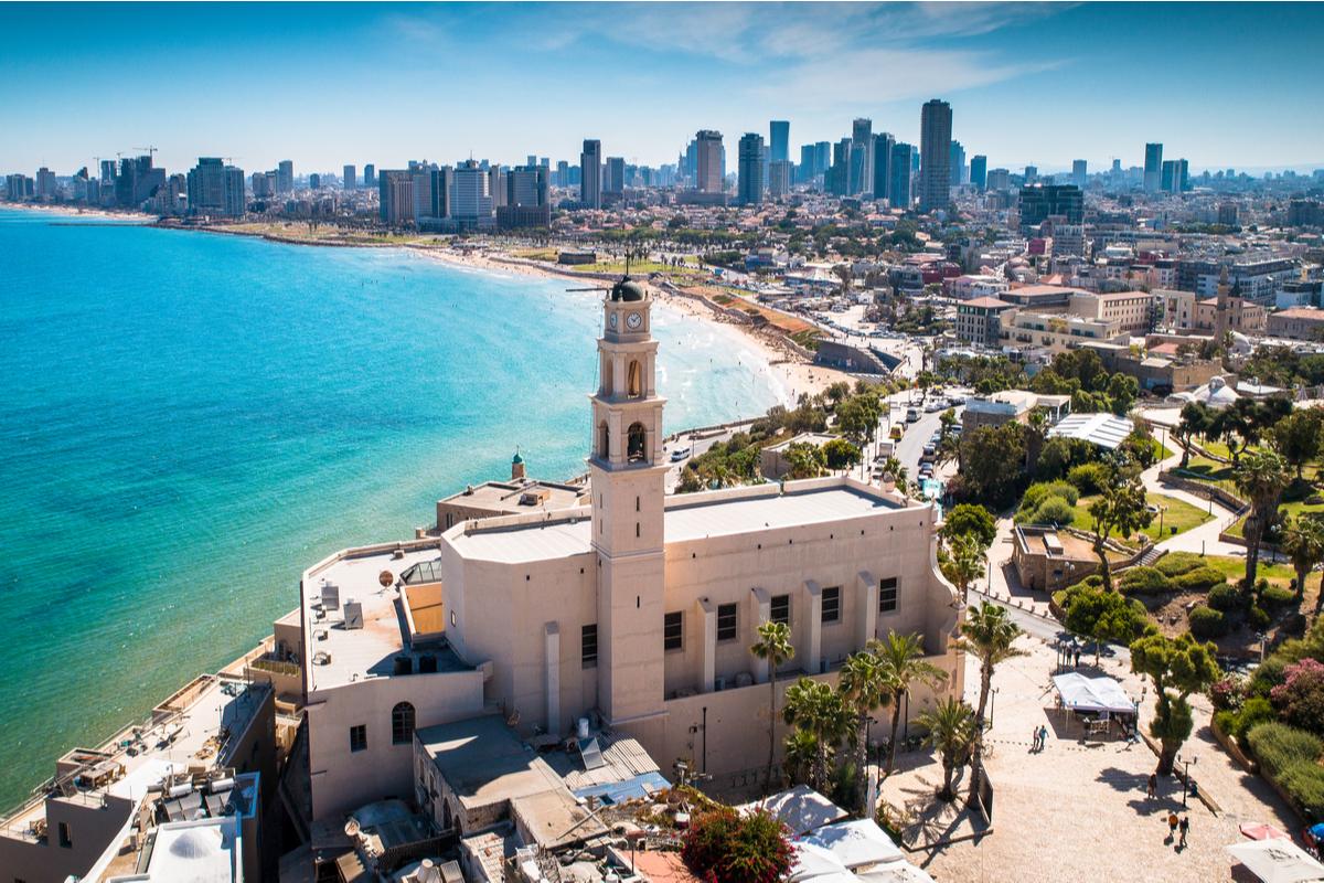 wyrzeże Tel Awiwu