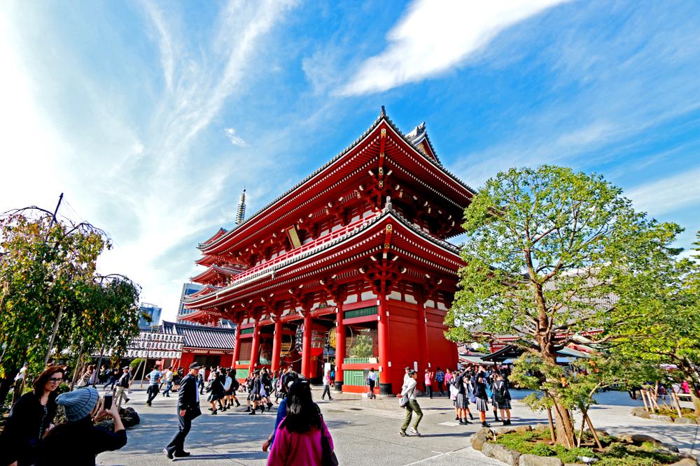 świątynia tokio