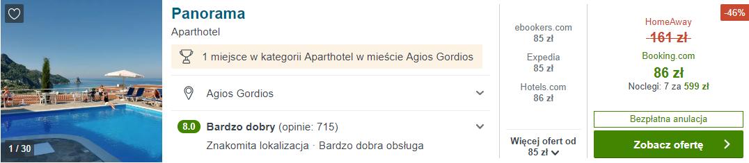 Hotel na Korfu