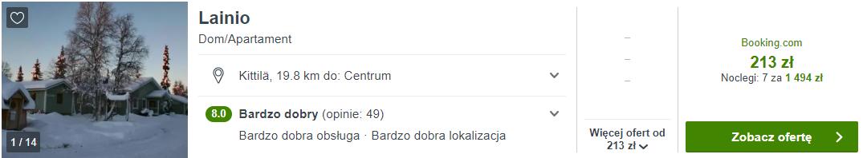 Laponia noclegi