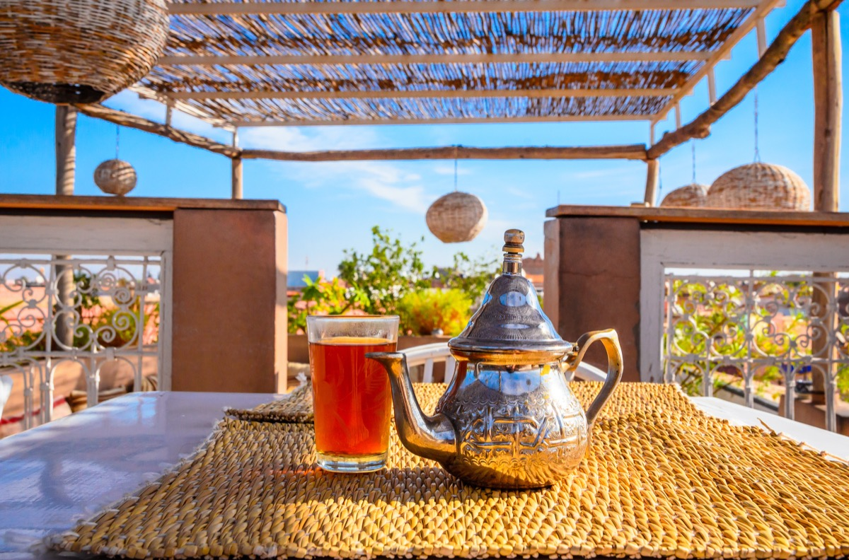 herbata w maroku