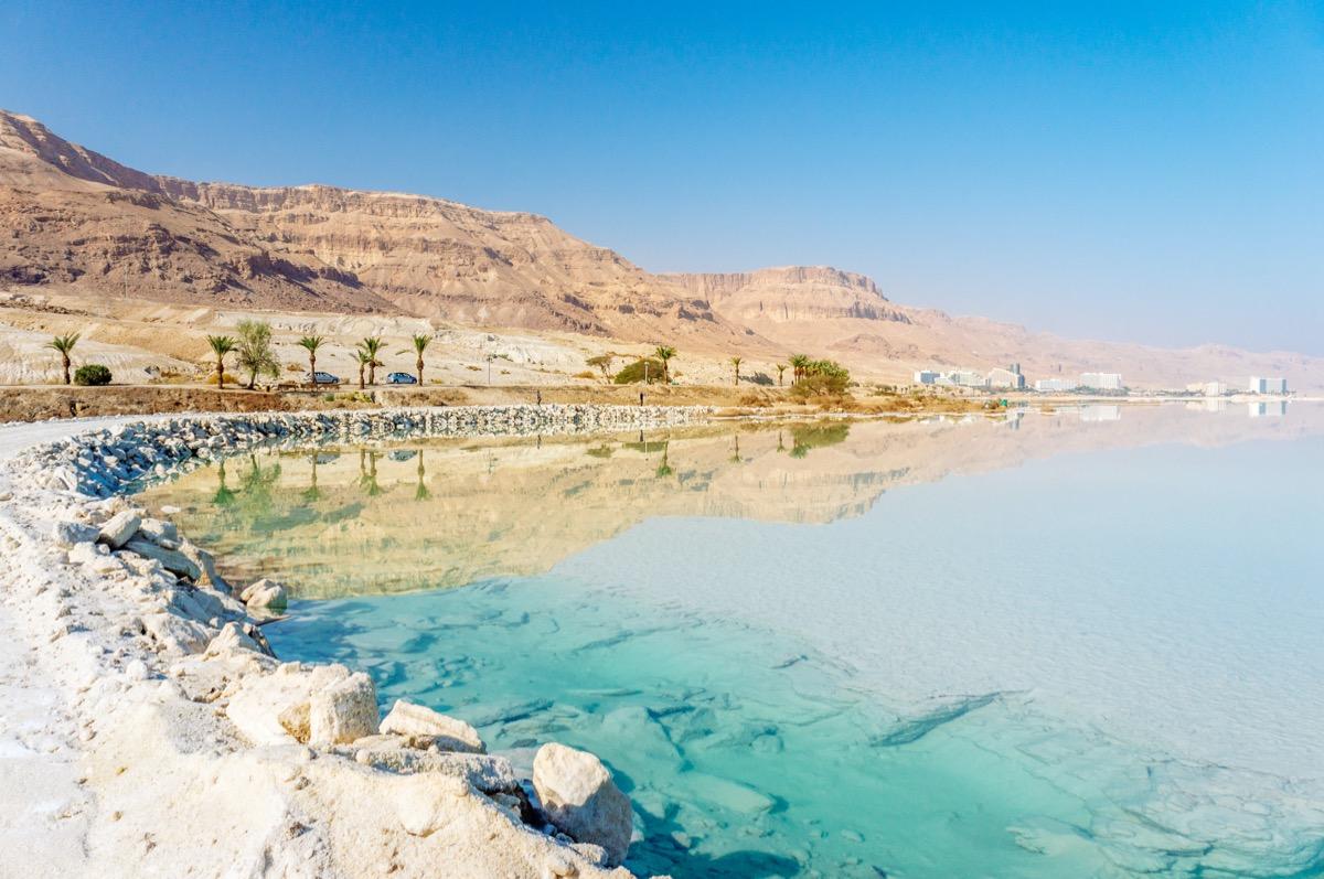 morze martwe plaża