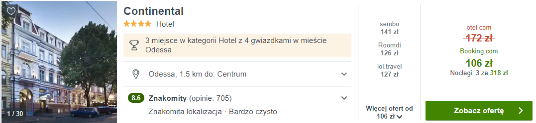 Hotel w Odessie