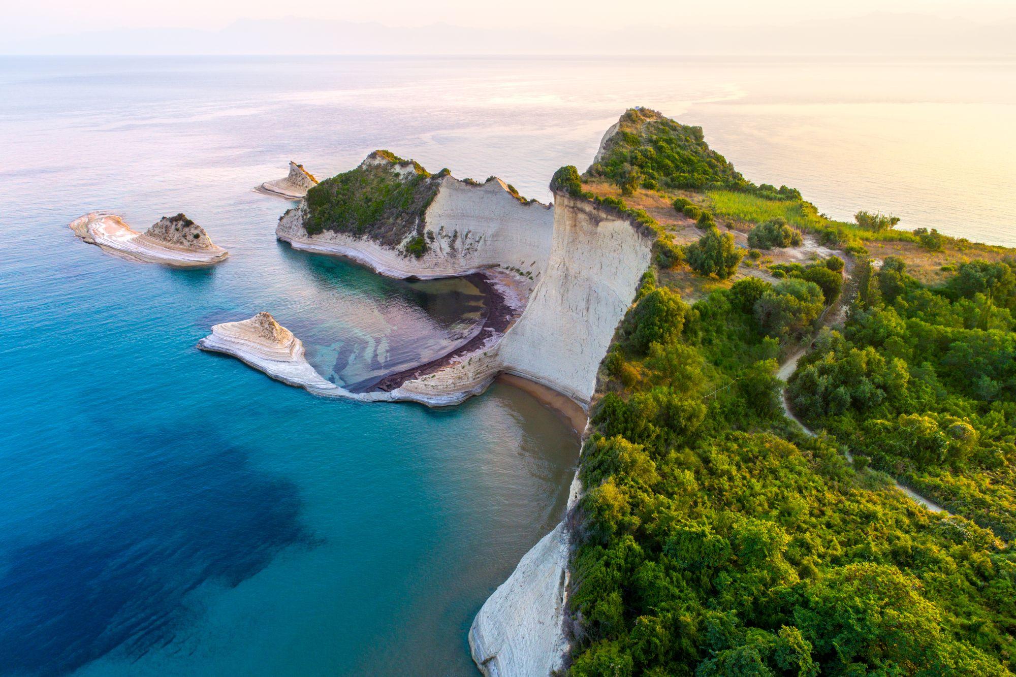 Wybrzeżę Korfu