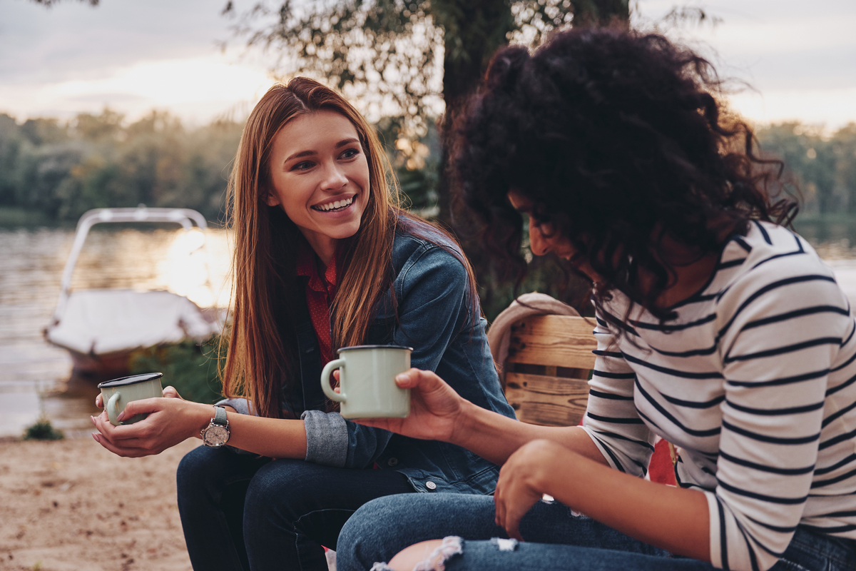 rozmowa przyjaciol