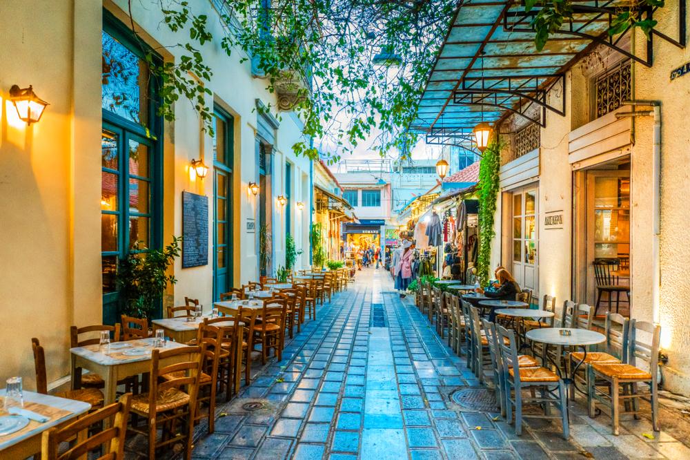 Ulica w Atenach