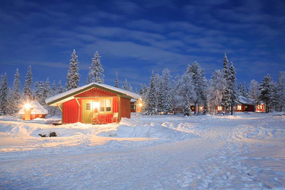 Zimowa chatka
