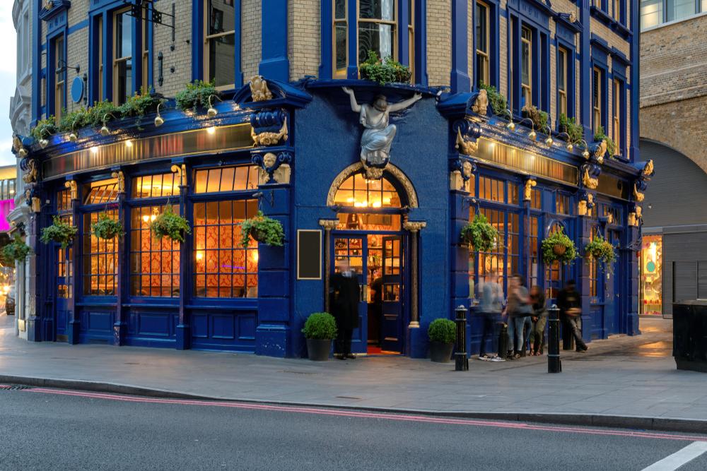 Pub w Londynie