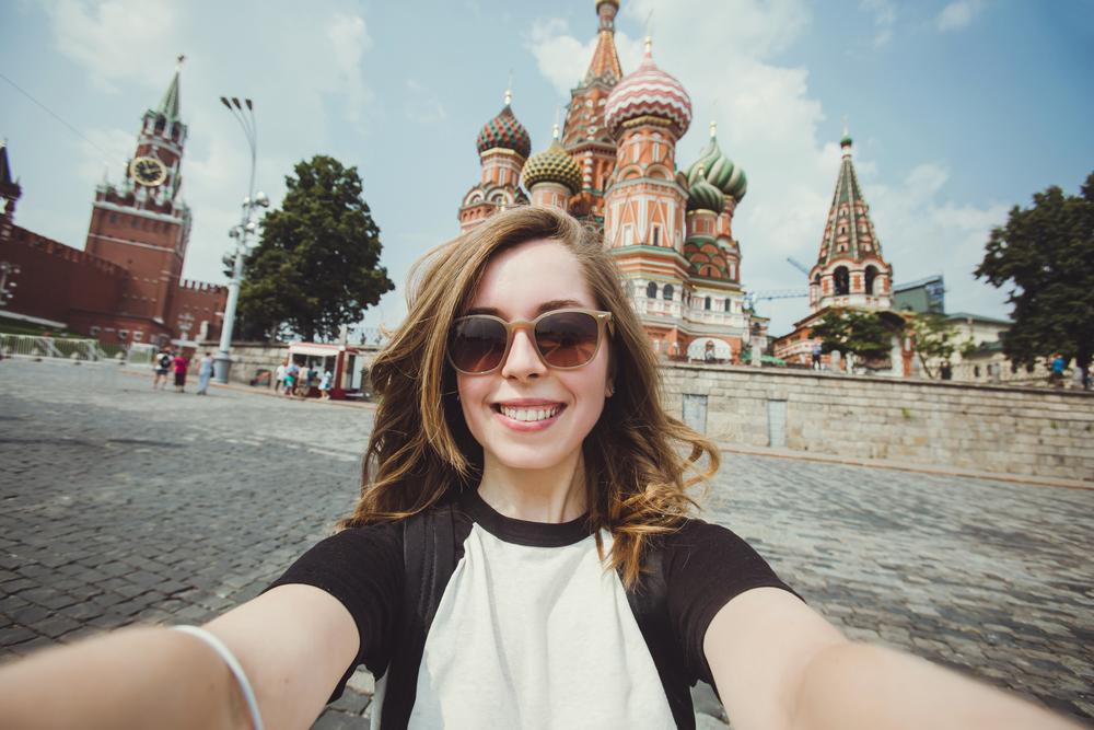 dziewczyna w rosji