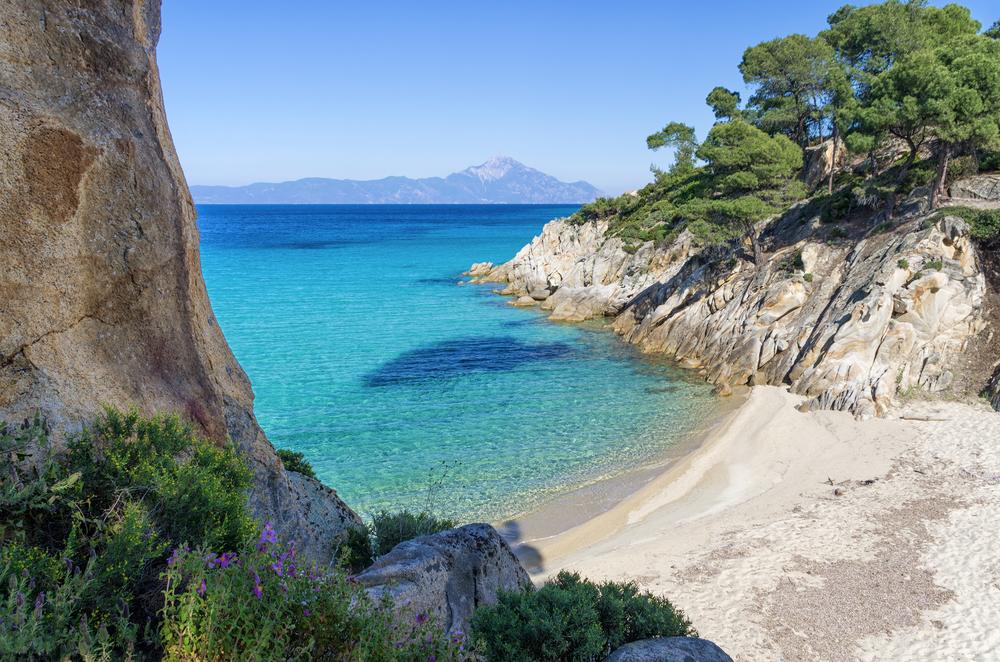 Plaża w Grecj