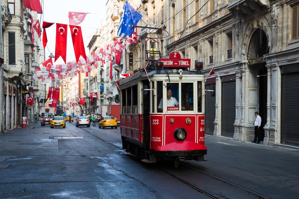 Tramwaj w Stambule