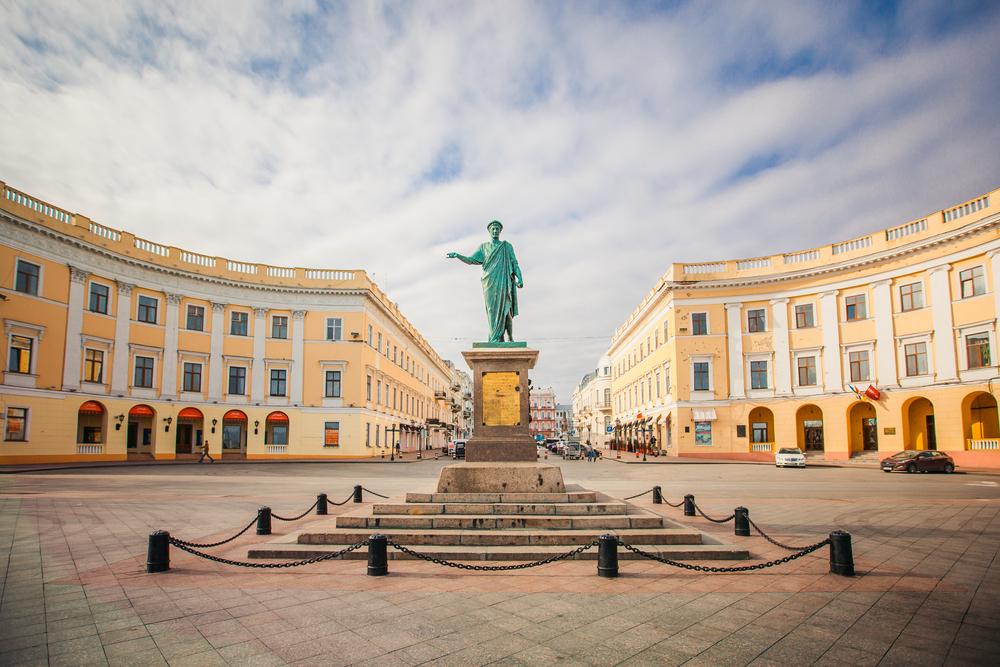 Pomnik w Odessie