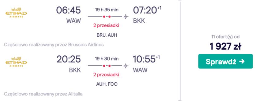 zarezerwuj loty do bangkoku