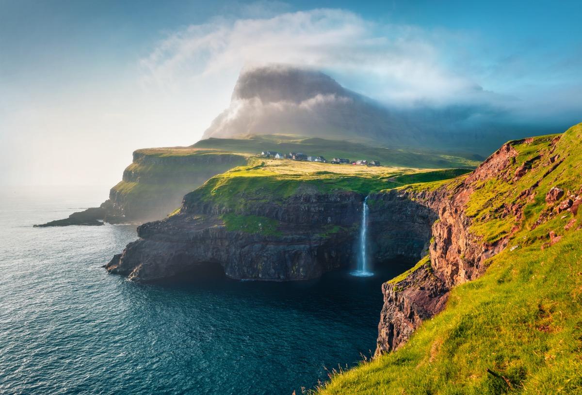 wyspy owcze miasto