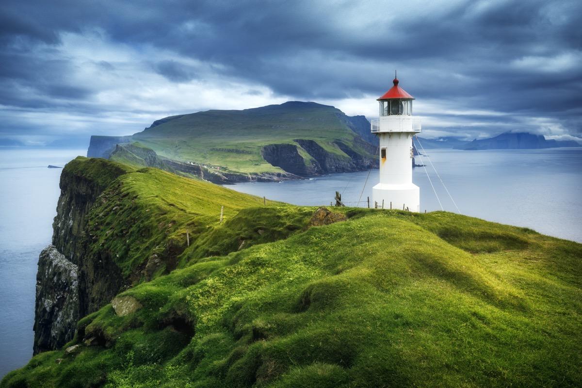 wyspy owcze latarnia morska