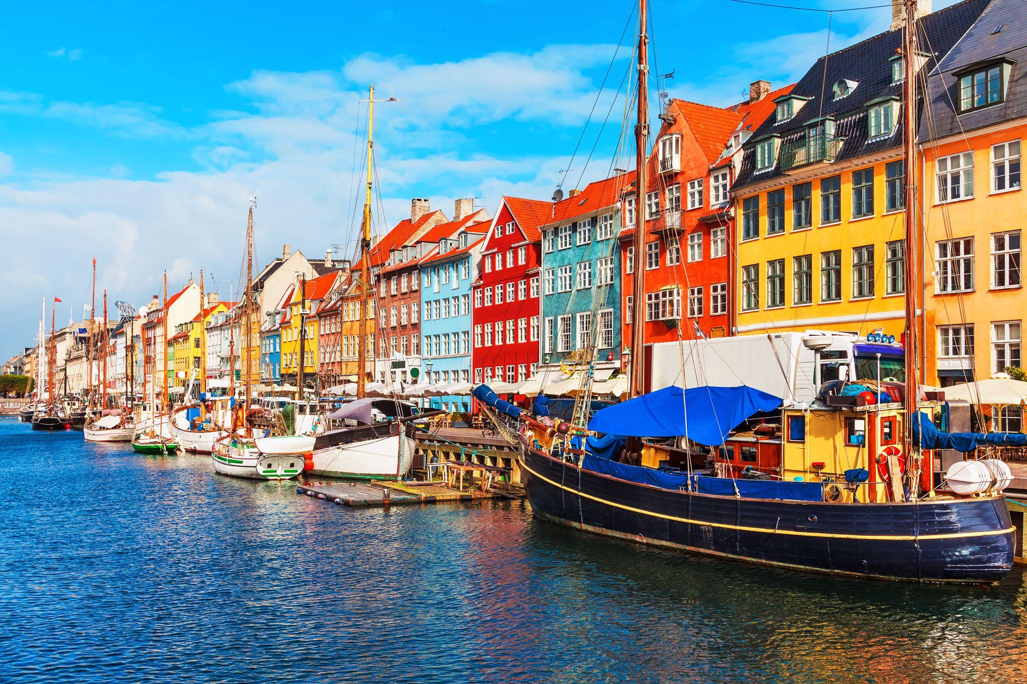 Przystań w Kopenhadze