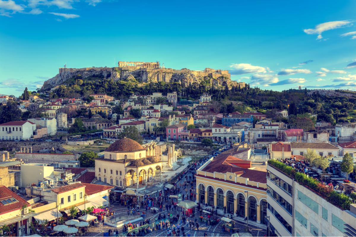 Widok na Akropol