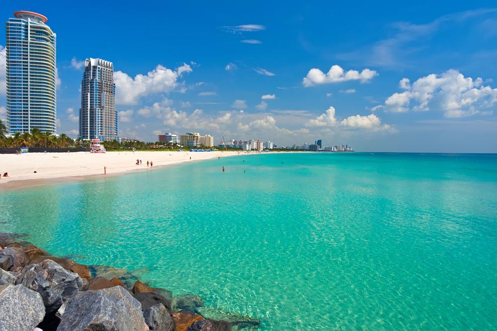 plaża w Miami