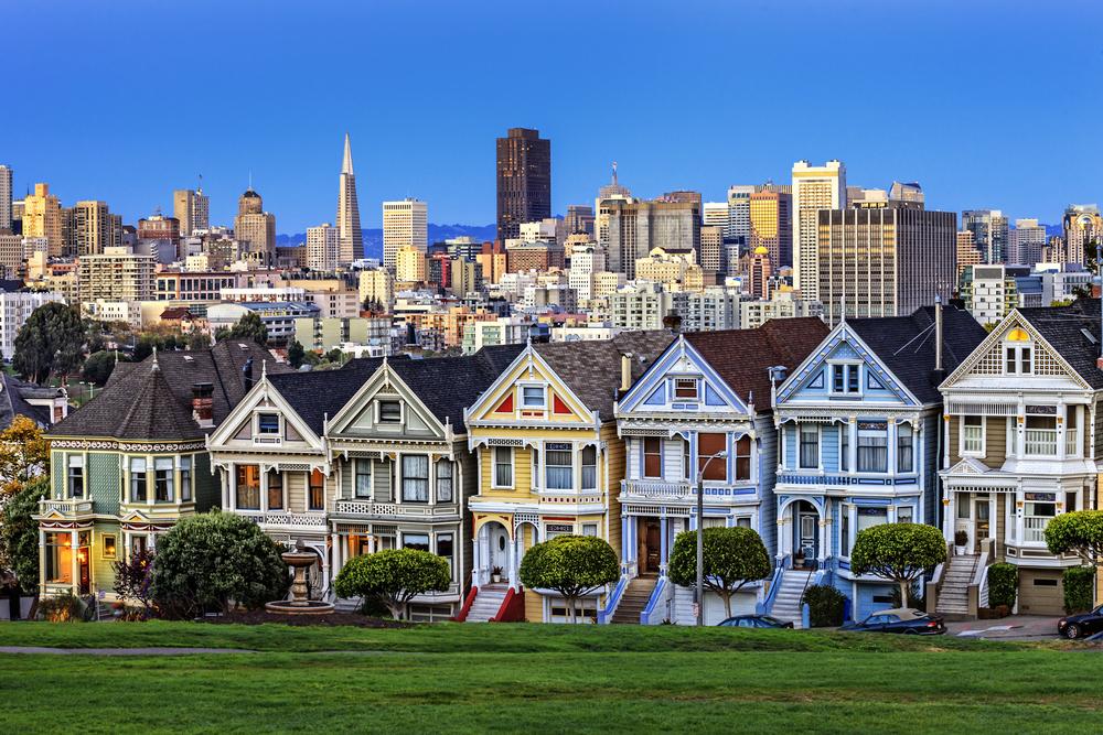 ulica w San Francisco
