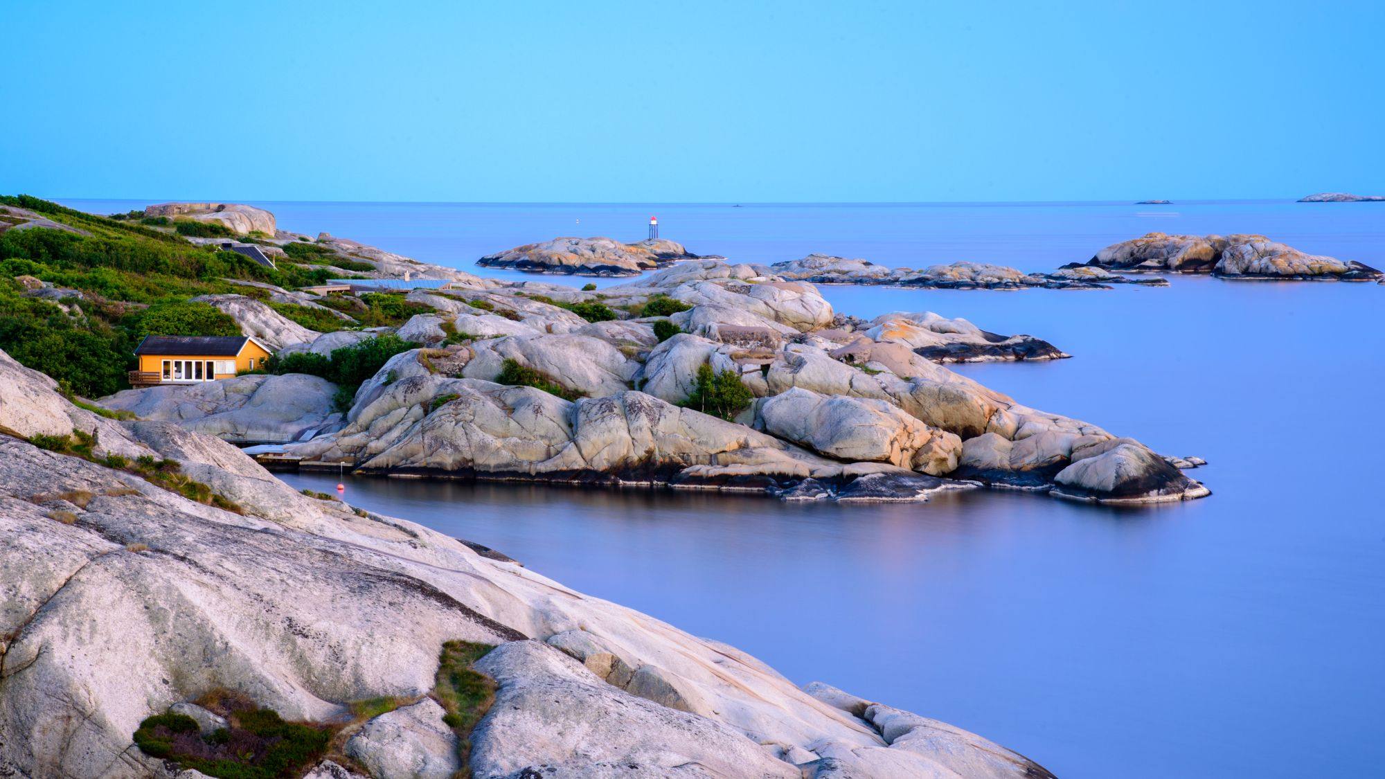 Snadefjord o poranku