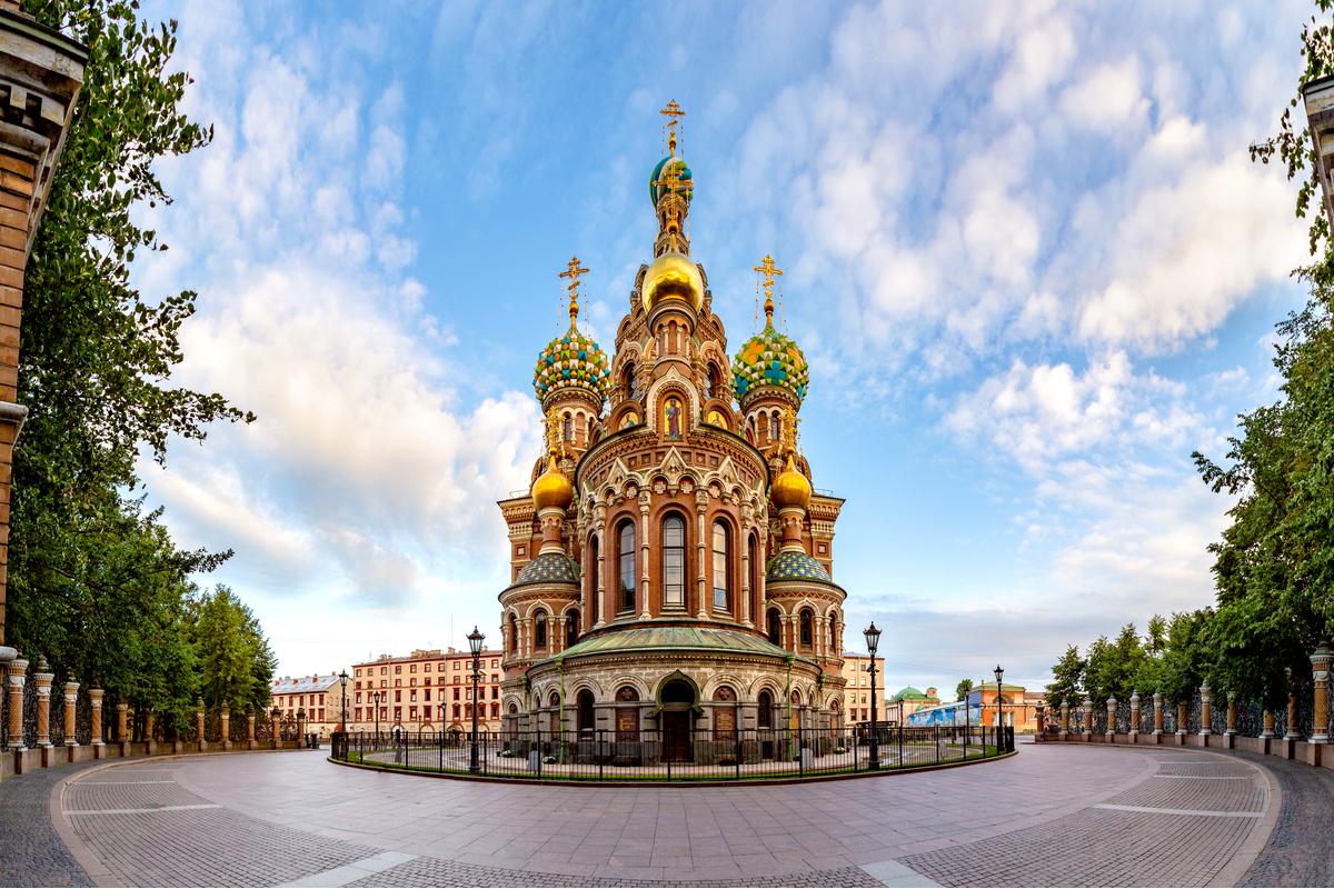 kościół Zbawiciela w Sankt Petersburgu