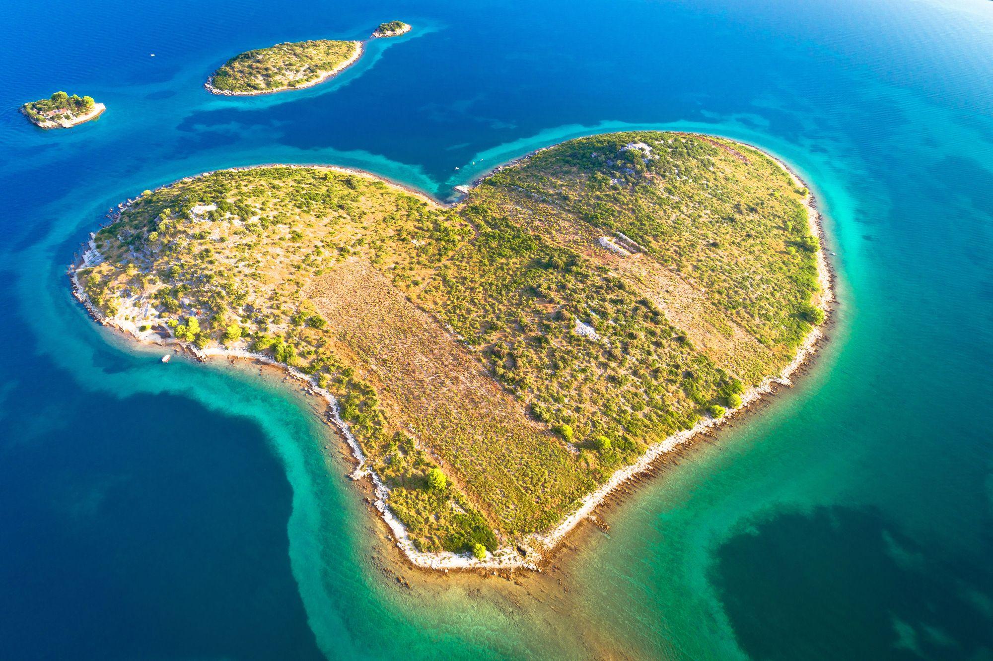 Wyspa w Chorwacji