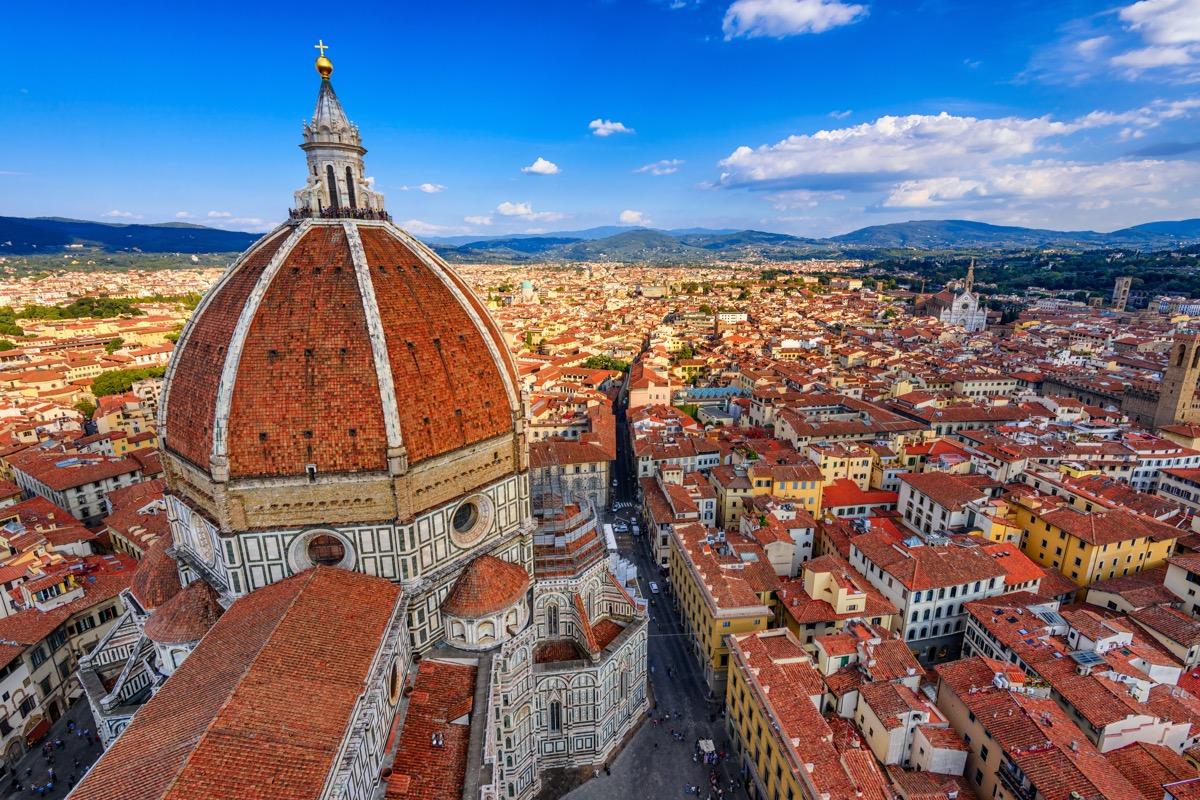 florencja panorama miasta