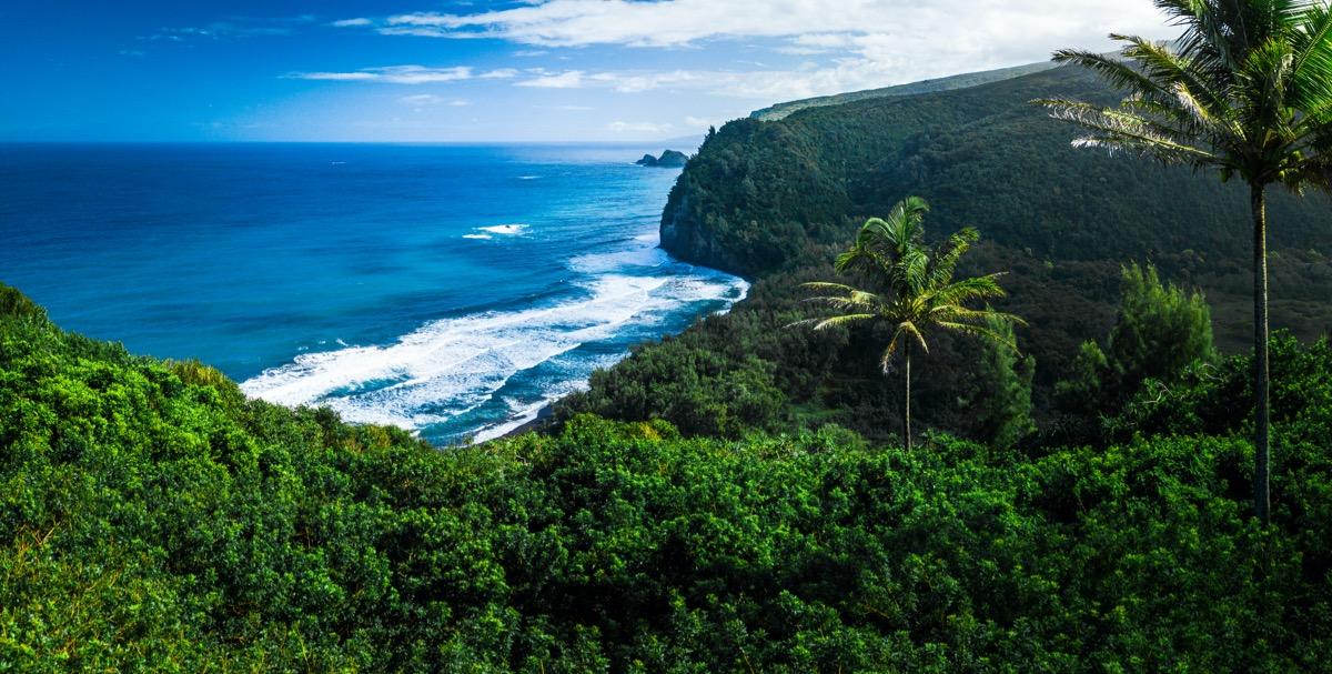 big island wybrzeze