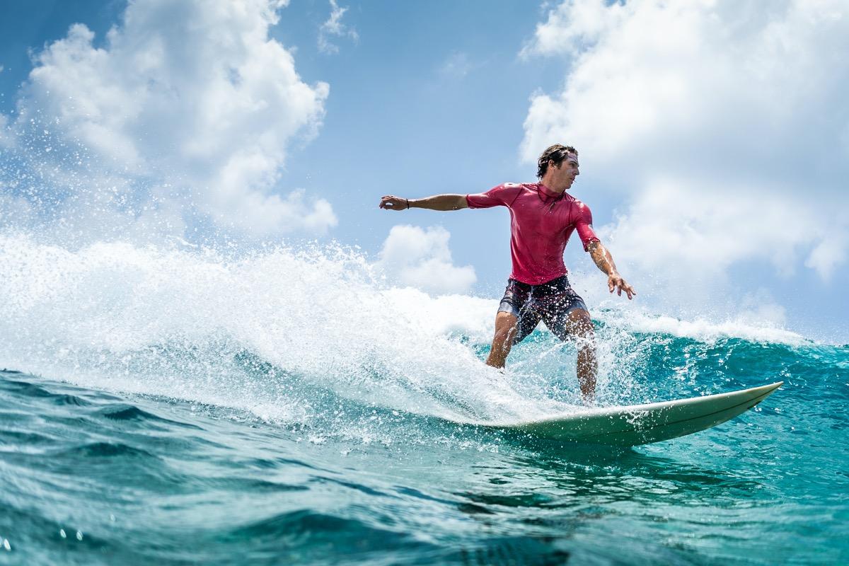 surfing na hawajach