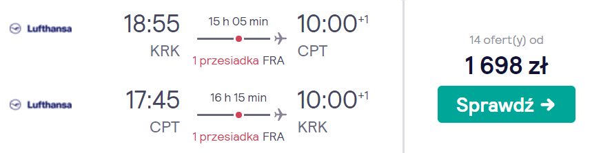 rezerwacja lotów