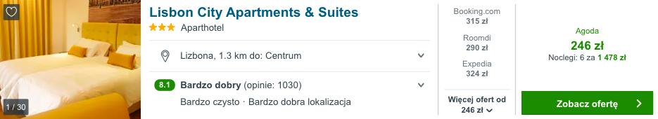 zarezerwuj hotel w lizbonie
