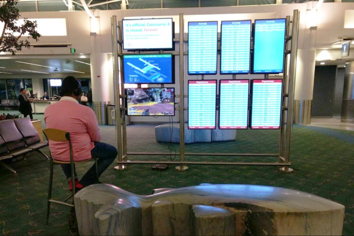 lotnisko portland playstation
