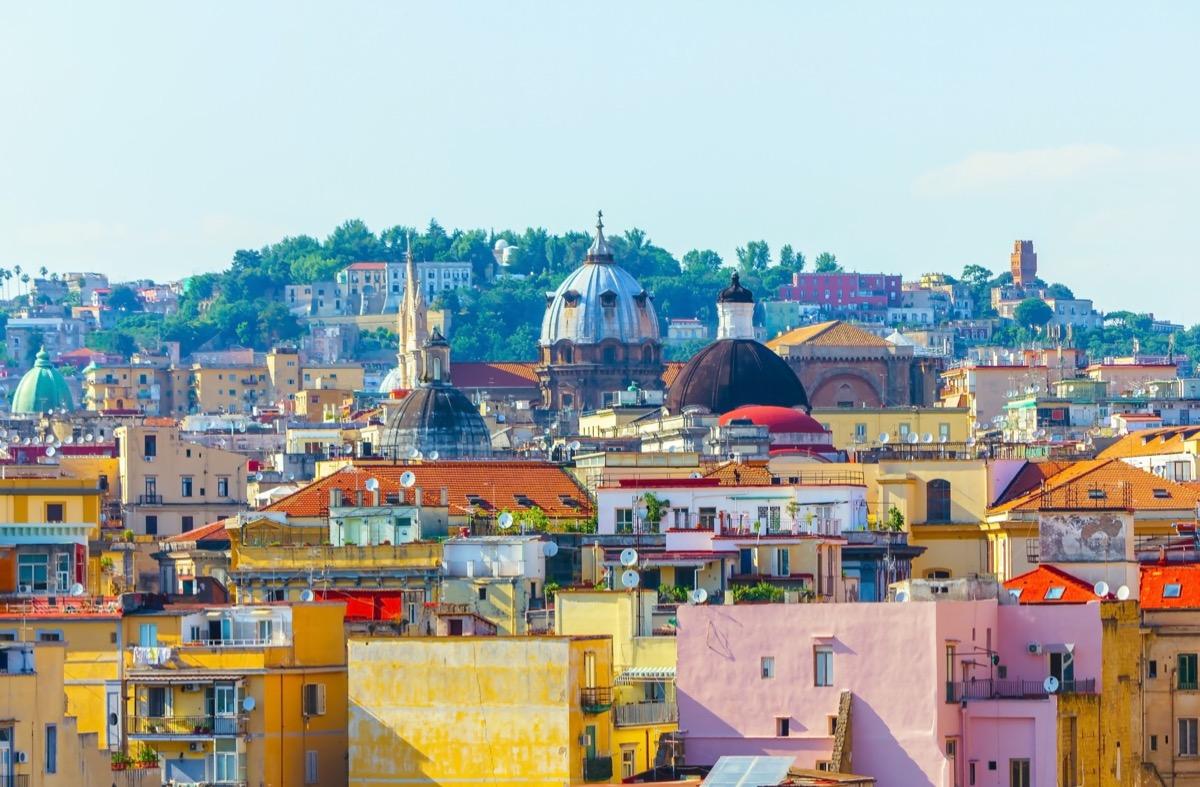 neapol widok na miasto
