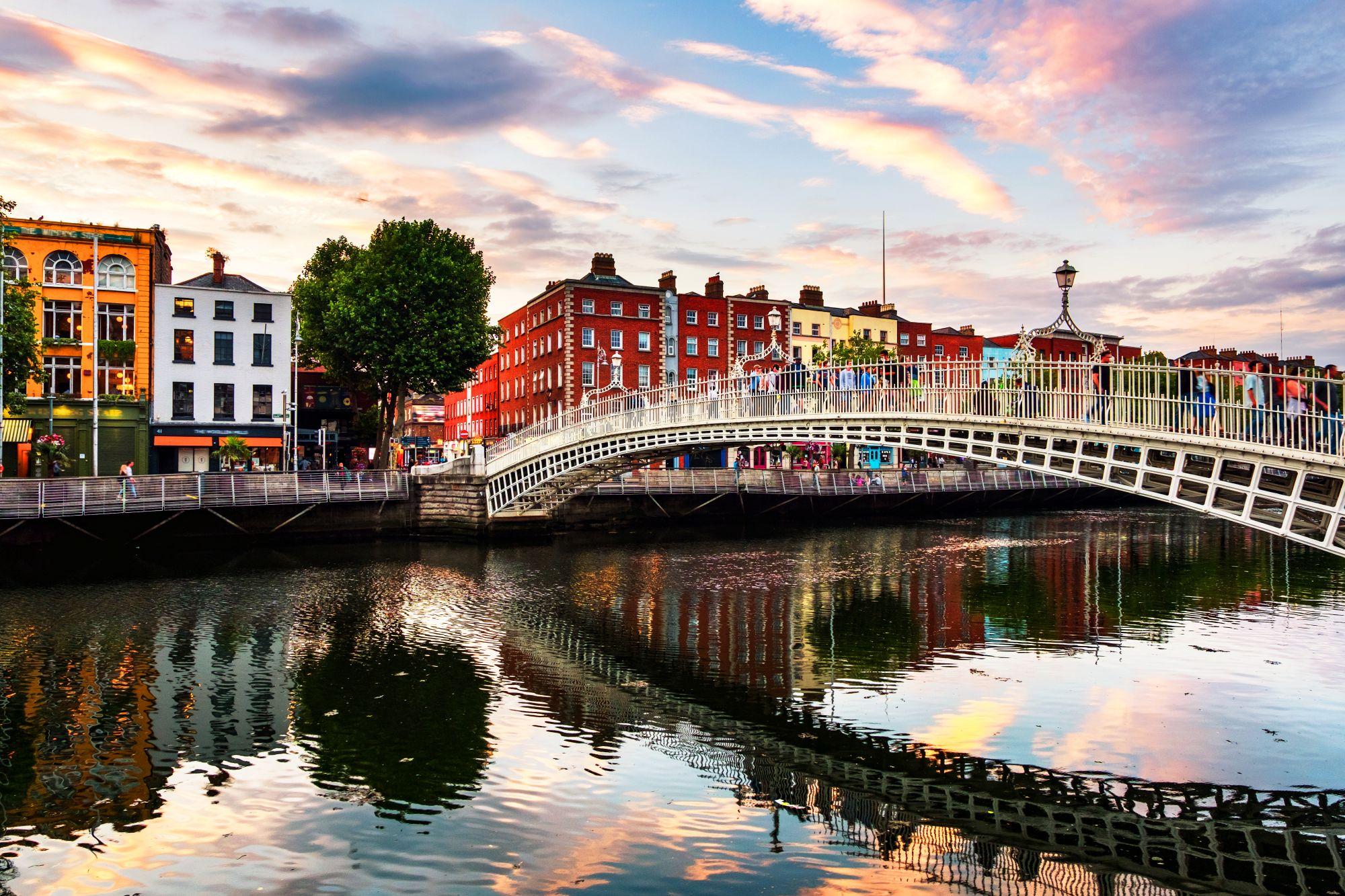 Most w Dublinie