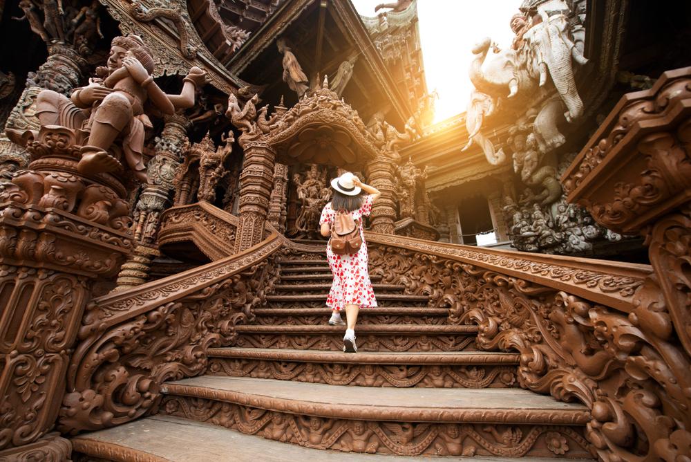 Schody świątyni