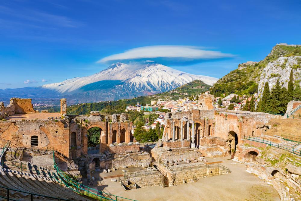 Ruiny amfiteatru