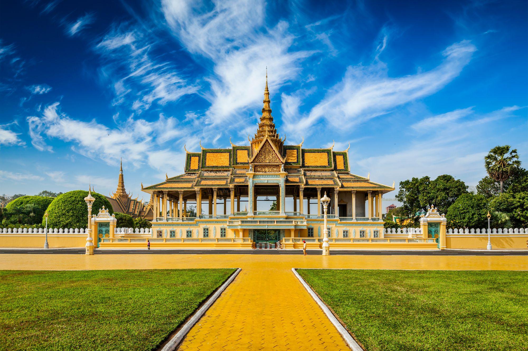 phnom penh świątynia