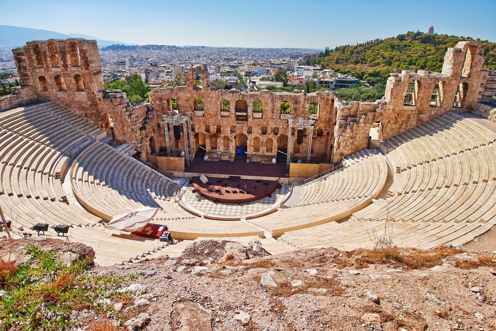 Starożytny amfiteatr