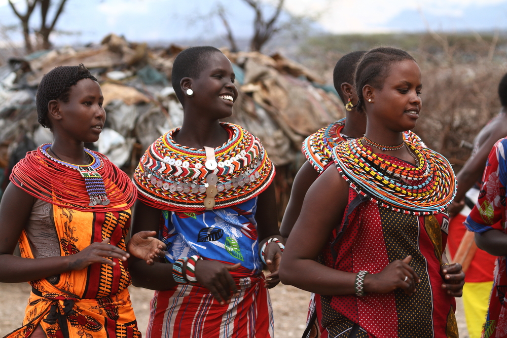 Mieszkańcy Kenii