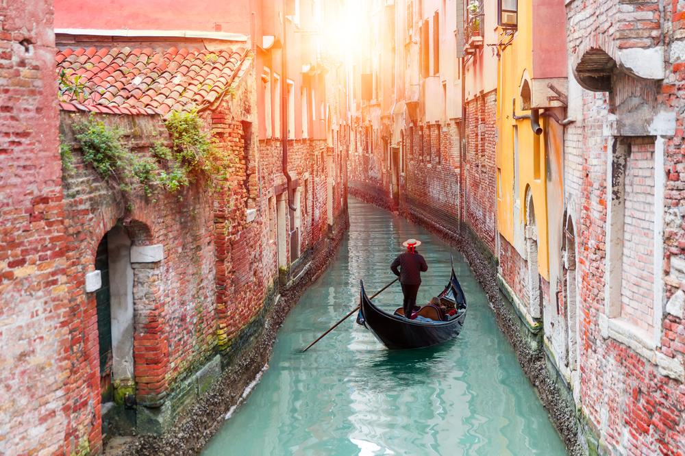 Łódź w Wenecji