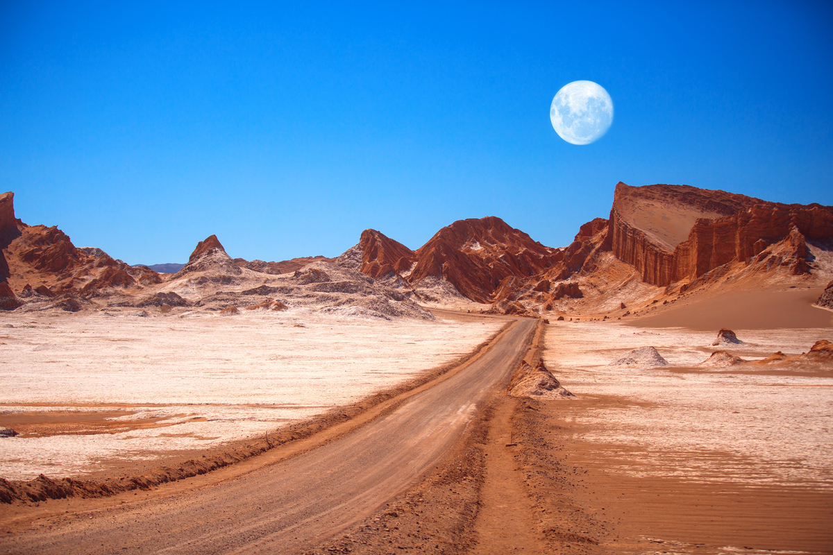 Moon Valley Chile
