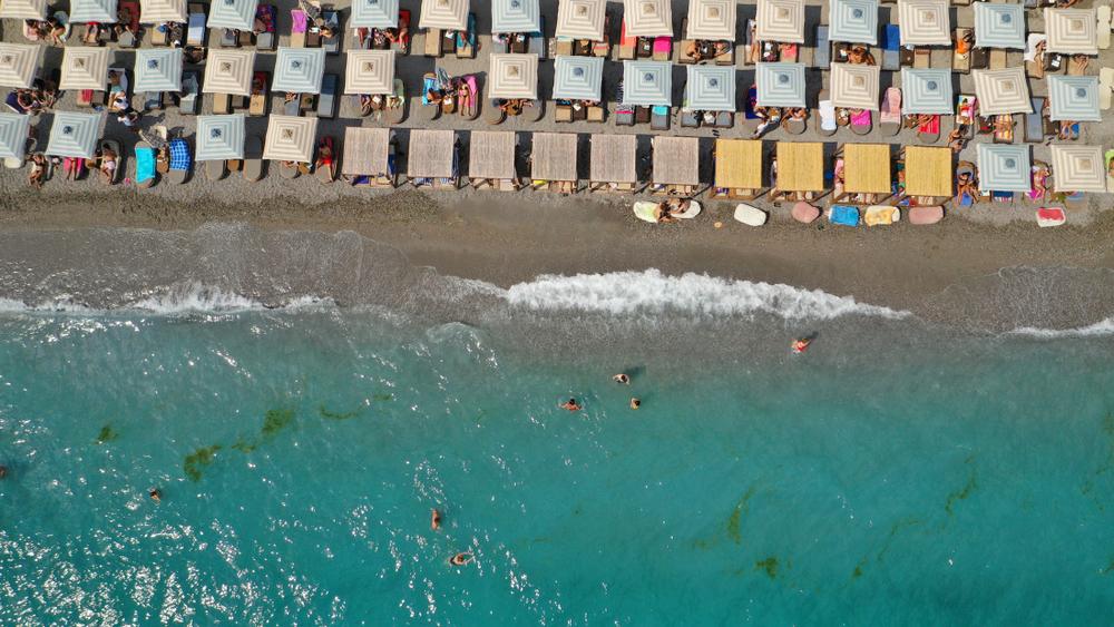 plaża w Kalamacie