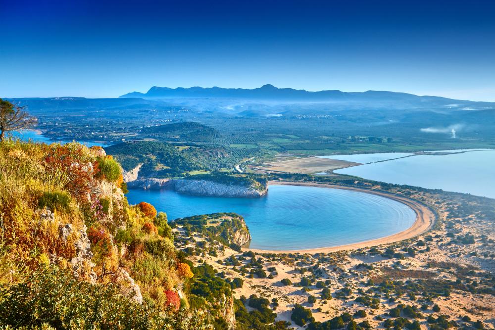 plaża w Pilos
