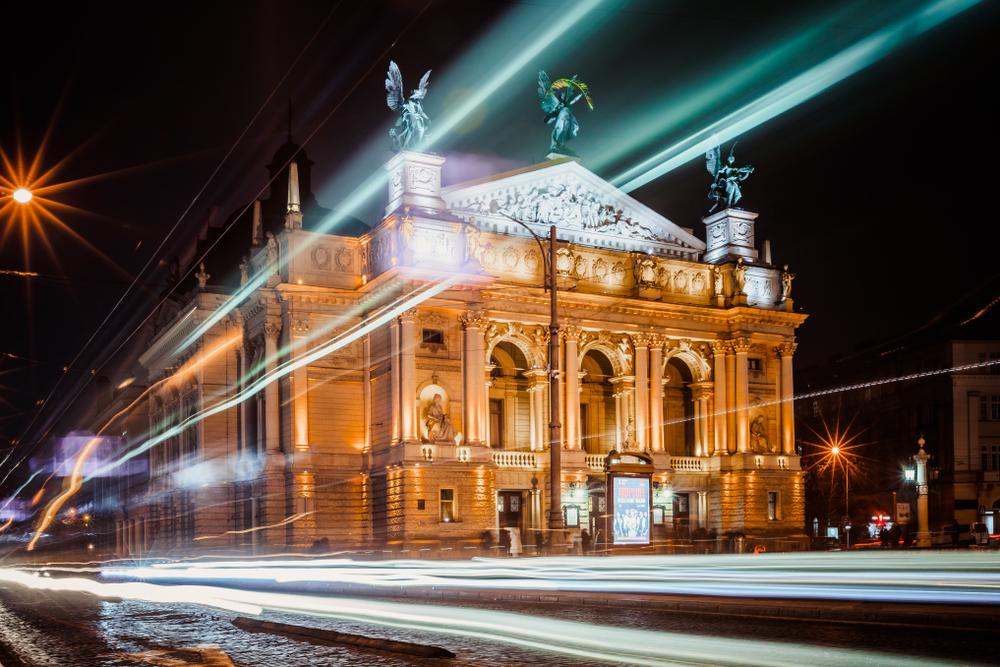 budynek opery we Lwowie