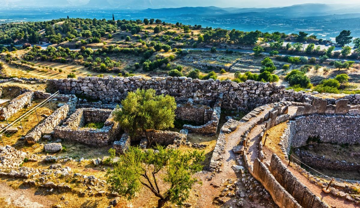 mykeny grecja