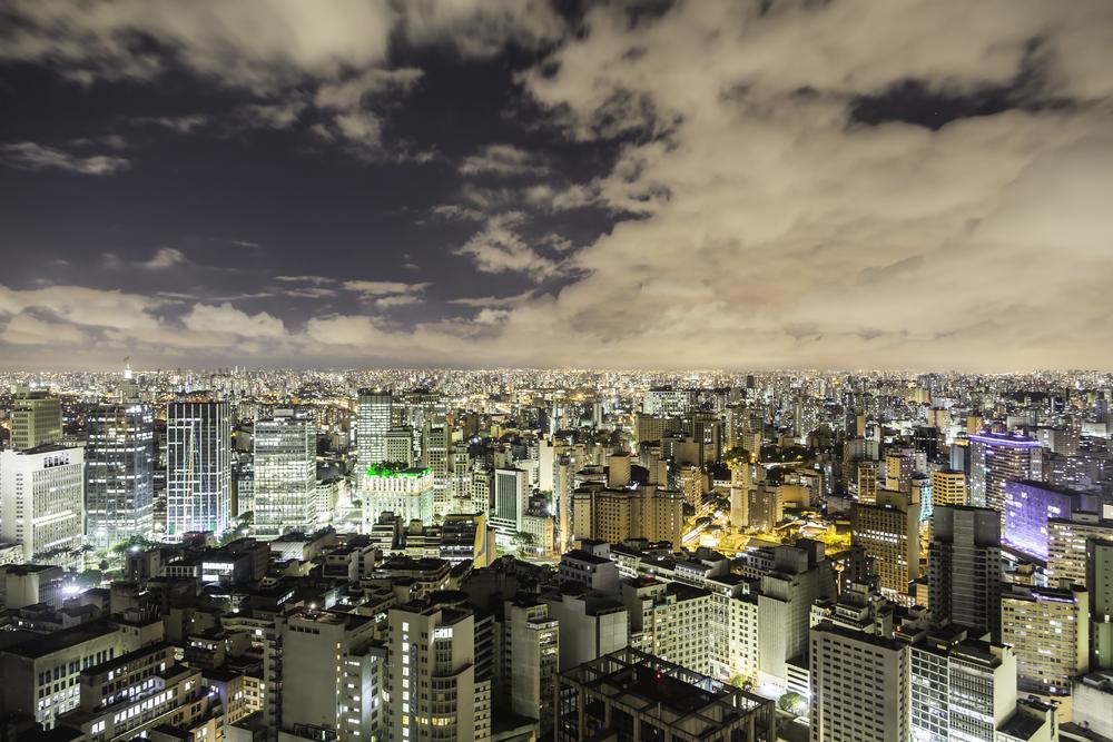 Sao Paulo nocą